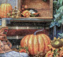 Autumn Roost Sticker