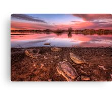 Dusk Mud Canvas Print