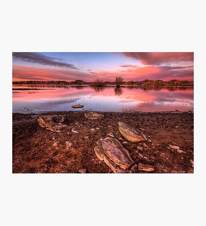 Dusk Mud Photographic Print