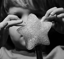 Magic star wand with little hands  by Jason Franklin