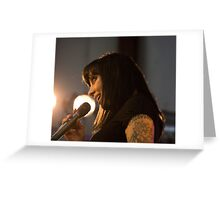Bif Naked At The West Coast Women's Show Greeting Card