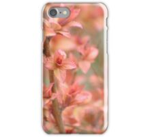 Spirea in Spring - Beverly E. Smith Butterfly and Hummingbird Garden iPhone Case/Skin