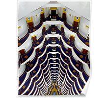 inside Burj al Arab Poster