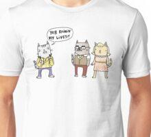 Kitty Teen Angst Unisex T-Shirt