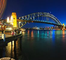Sydney Harbour Panorama from Luna Park by Flux Photography