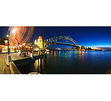Sydney Harbour Panorama from Luna Park Photographic Print