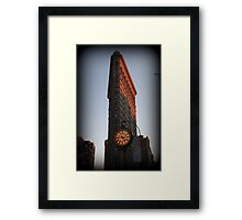 Flatiron on 5th Framed Print