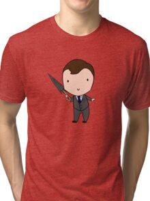 Mycroft & The Beloved Umbrella  Tri-blend T-Shirt