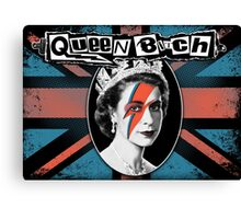 Queen Bitch Canvas Print