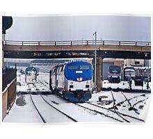 Amtrak approach Poster