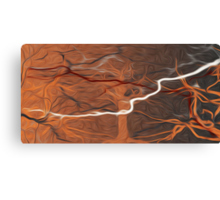Abstract Trees Oil Painting #15 Canvas Print