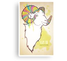 Ram On Canvas Print
