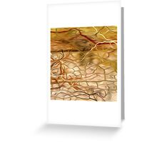 Abstract Colors Oil Painting #60 Greeting Card