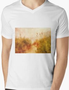 Beach Grass Mens V-Neck T-Shirt