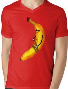 Jazz Banana Mens V-Neck T-Shirt