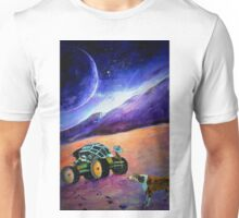 'Pawprints in the Aeolian Dust' Unisex T-Shirt
