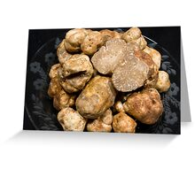 Oregon White Truffles Greeting Card