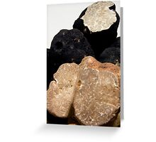 Oregon Black & White Truffles Greeting Card