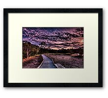 Nature walk Framed Print