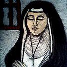 women in prayer by NEIL STUART COFFEY
