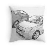 Citroen C2 VTS Throw Pillow