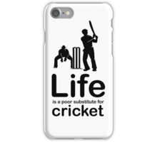 Cricket v Life - White iPhone Case/Skin