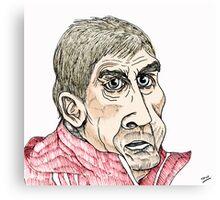 Kenny Dalglish Cartoon Caricature Canvas Print