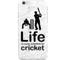 Cricket v Life - Marble iPhone Case/Skin