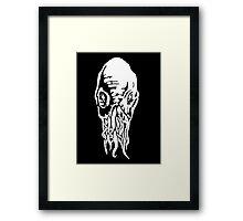 Doctor Who - Ood - Black & White Framed Print