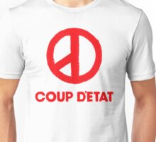 COUP D'ETAT V. RED Unisex T-Shirt