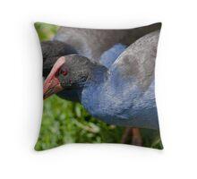 Pukeko - New Zealand Throw Pillow