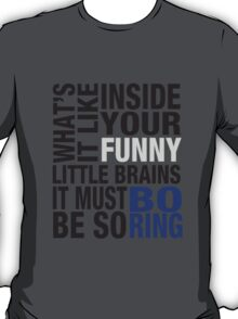 Sherlock quote typography T-Shirt