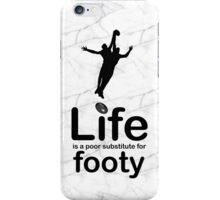 AFL v Life - Marble iPhone Case/Skin