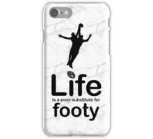 AFL v Life - Marble iPhone Case/Skin