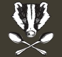 Badger and Spoons by ZugArt