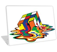 Melting Cube Laptop Skin