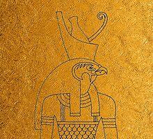 Golden Horus  by Ommik