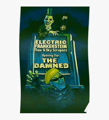 The Damned Poster Poster