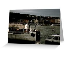Dusk on the Danube Greeting Card