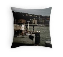 Dusk on the Danube Throw Pillow