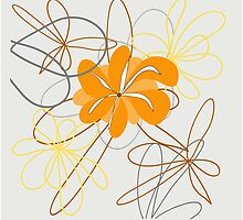 design art flower abstract beauty backgrounds beautiful nature decoration floral spring by Larisa13