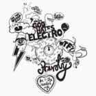 Love Electro! T-Shirt COLOR ME by Fabian Pfeifhofer