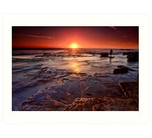 Turimetta Sunrise Art Print