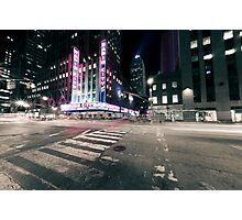 Radio City NY Photographic Print