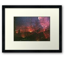Only After Dark  Framed Print