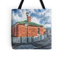 Red Brick House in Hobart Tote Bag