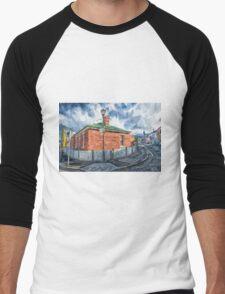 Red Brick House in Hobart Men's Baseball ¾ T-Shirt