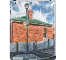 Red Brick House in Hobart iPad Case/Skin