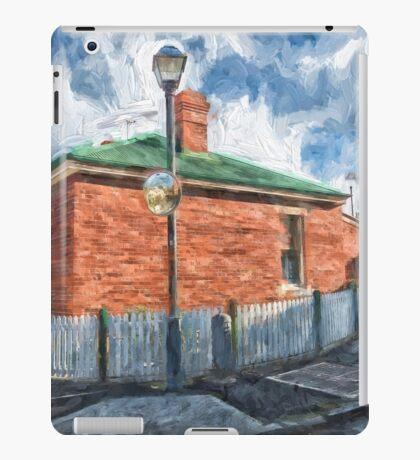 Red Brick House in Hobart iPad Case/Skin
