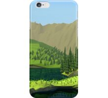 Polygon Hills iPhone Case/Skin